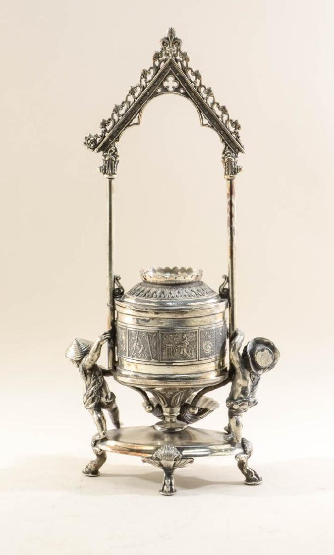 Reed & Barton Silverplate Jewel Casket - 2