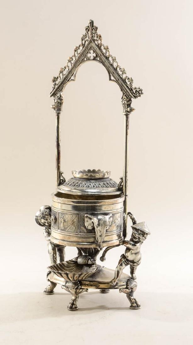 Reed & Barton Silverplate Jewel Casket - 3