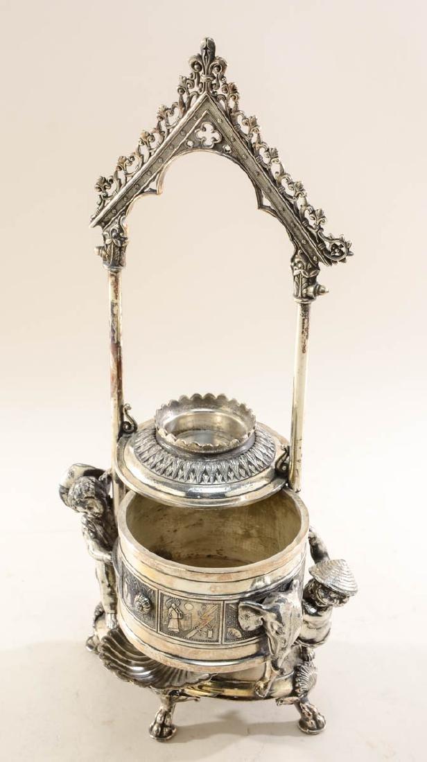 Reed & Barton Silverplate Jewel Casket - 4
