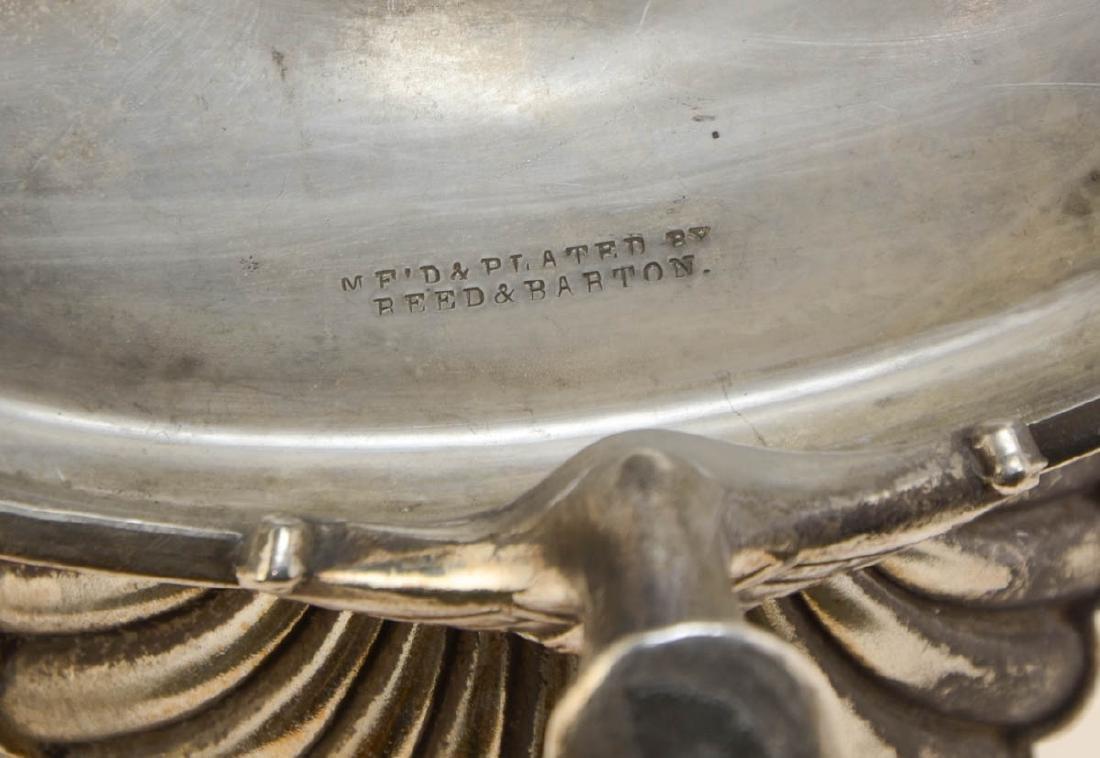 Reed & Barton Silverplate Jewel Casket - 5