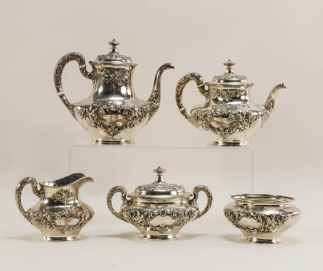 Gorham Sterling Silver Tea Service