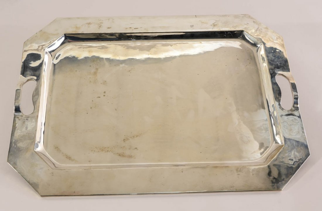 Mid 20th Century Mexican Silver Tray