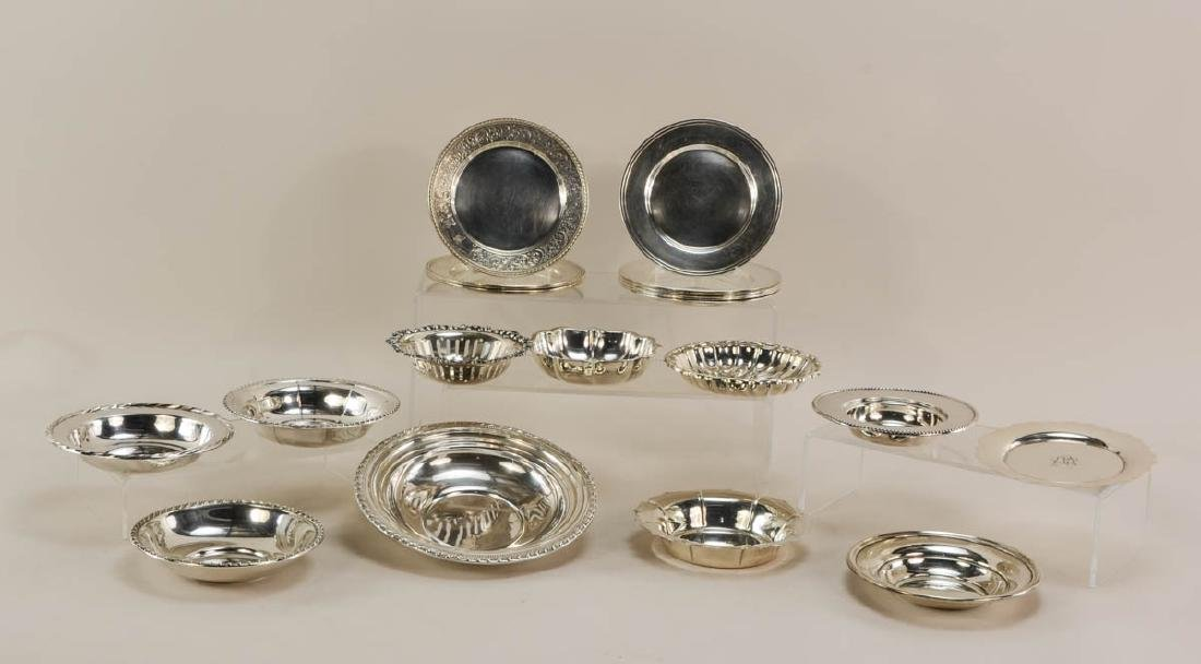 Sterling Silver Plates and Bowls