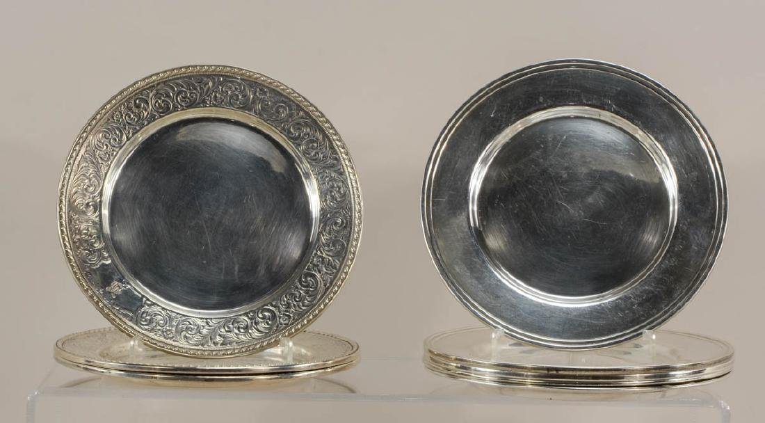 Sterling Silver Plates and Bowls - 2
