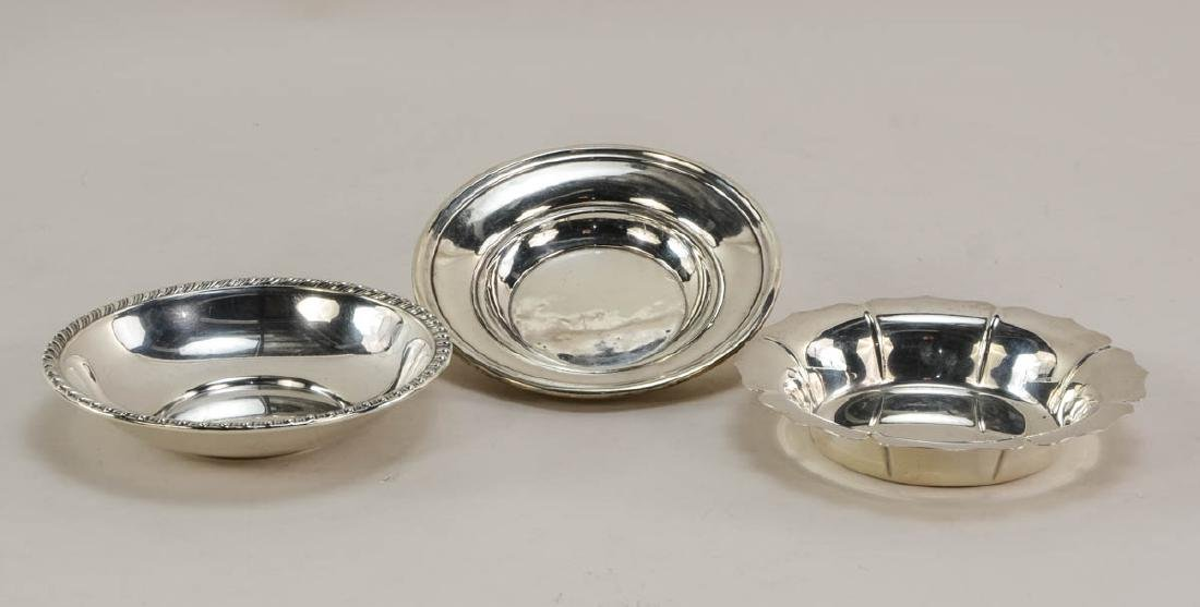 Sterling Silver Plates and Bowls - 3
