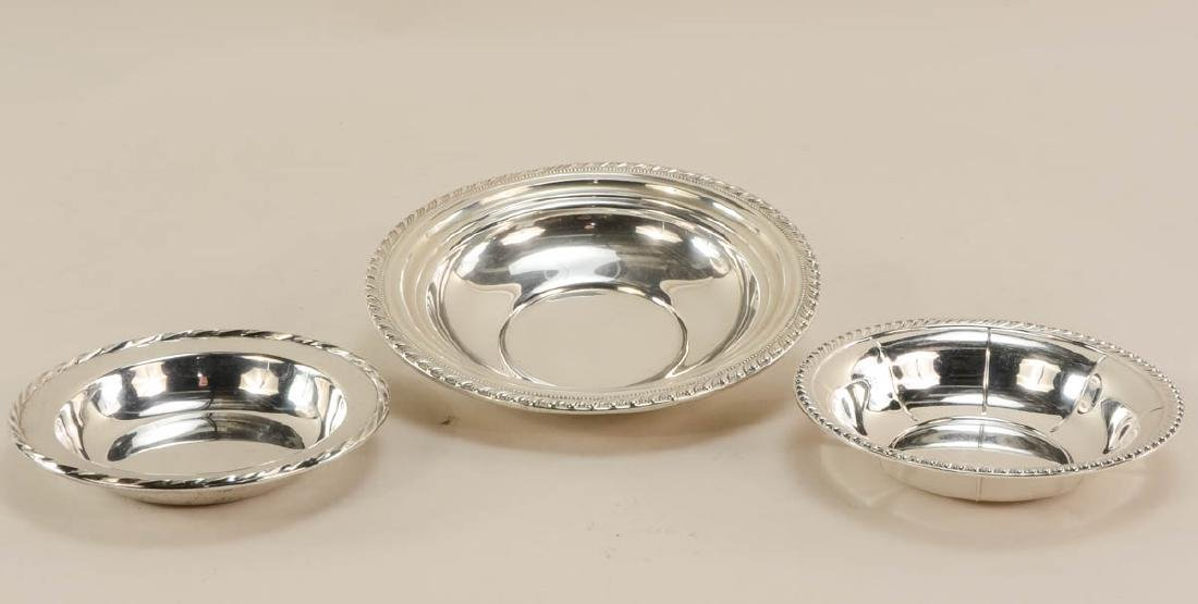 Sterling Silver Plates and Bowls - 4