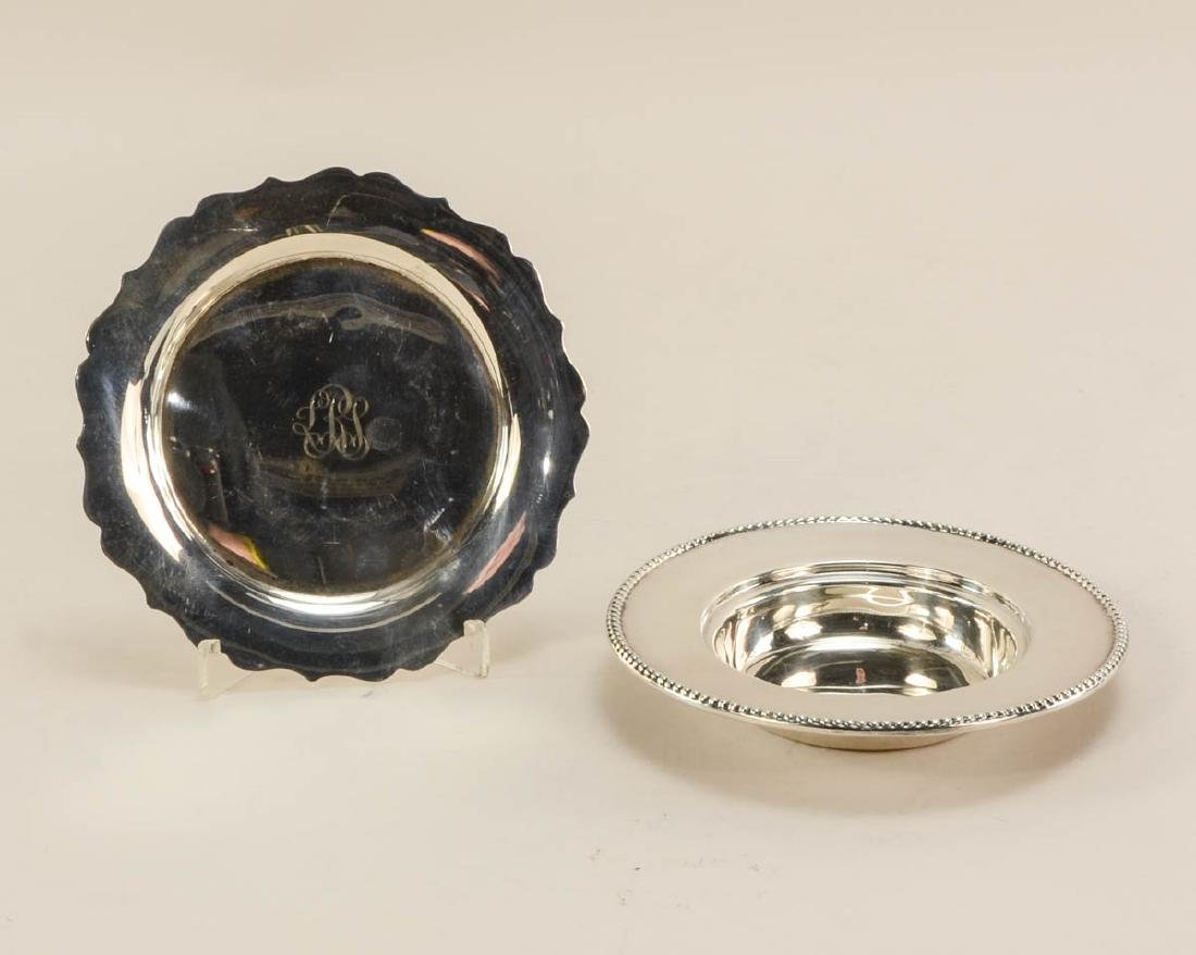 Sterling Silver Plates and Bowls - 5