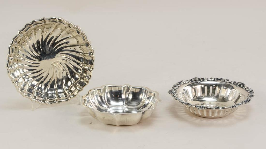 Sterling Silver Plates and Bowls - 6