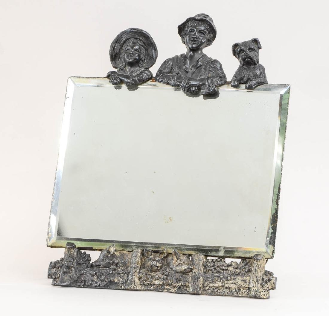 Rogers Silverplate Mirror: Tom Sawyer