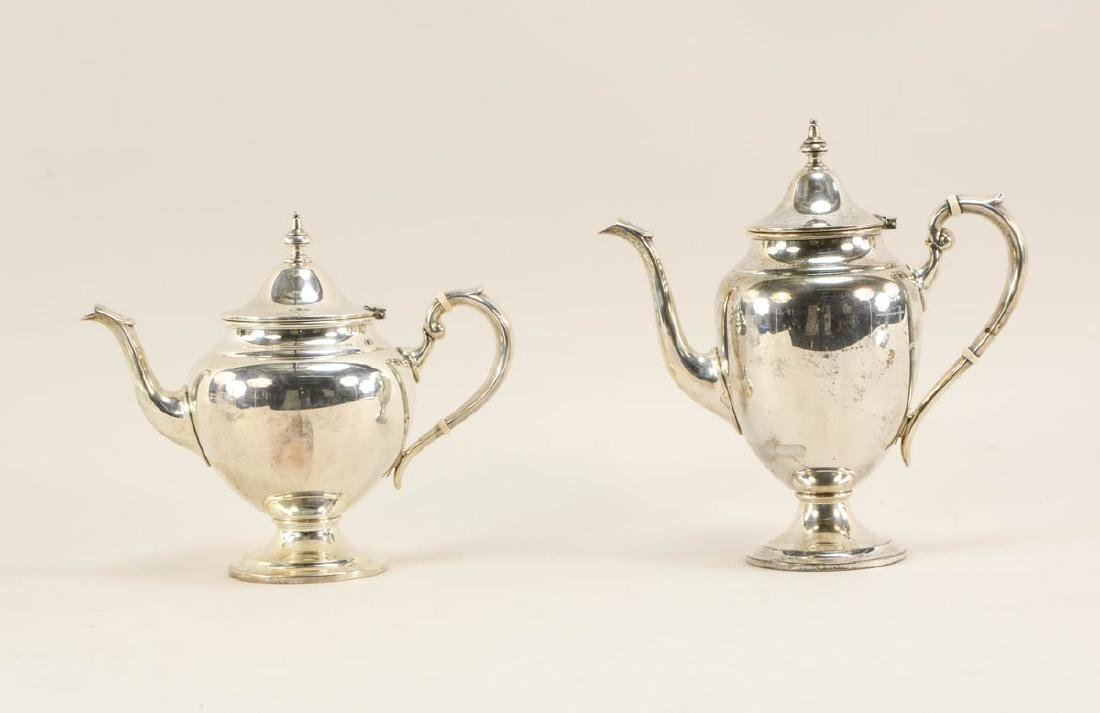 Gorham Sterling Tea and Coffee Pots