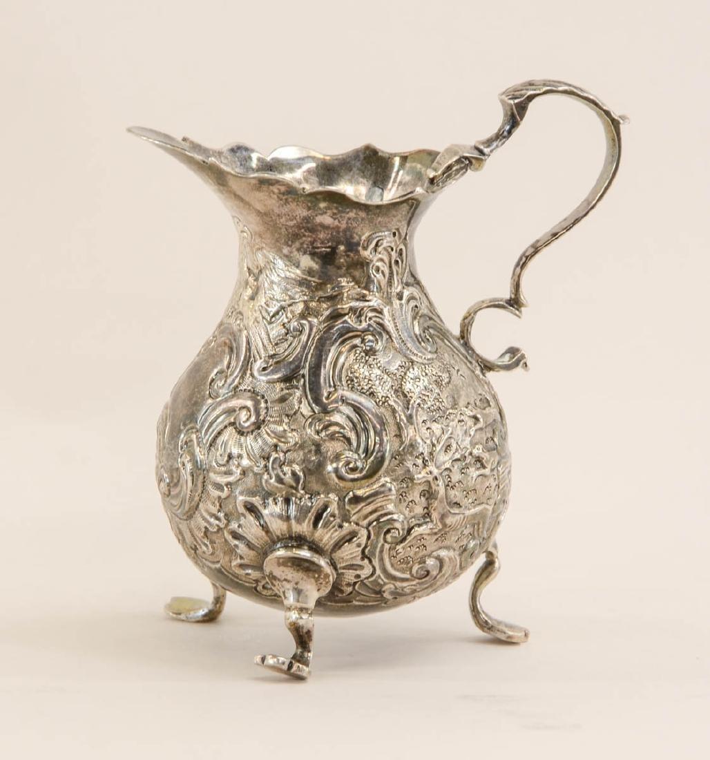Georgian Silver Cream pitcher