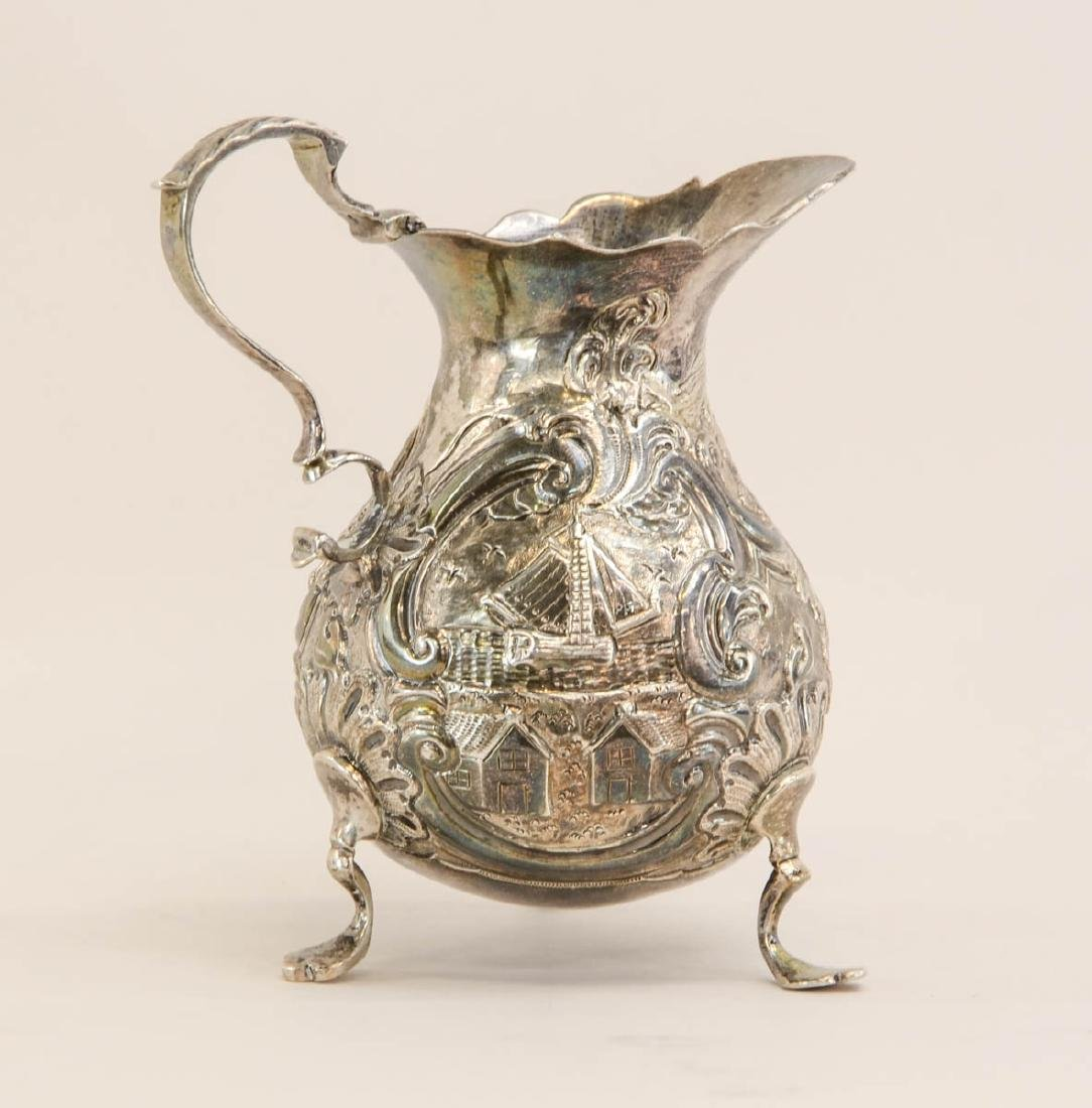 Georgian Silver Cream pitcher - 2