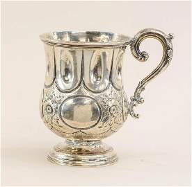 American Coin Silver Cup