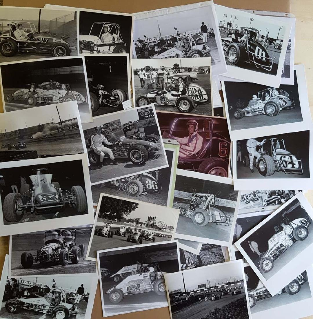 1970's-80's sprint car photo file