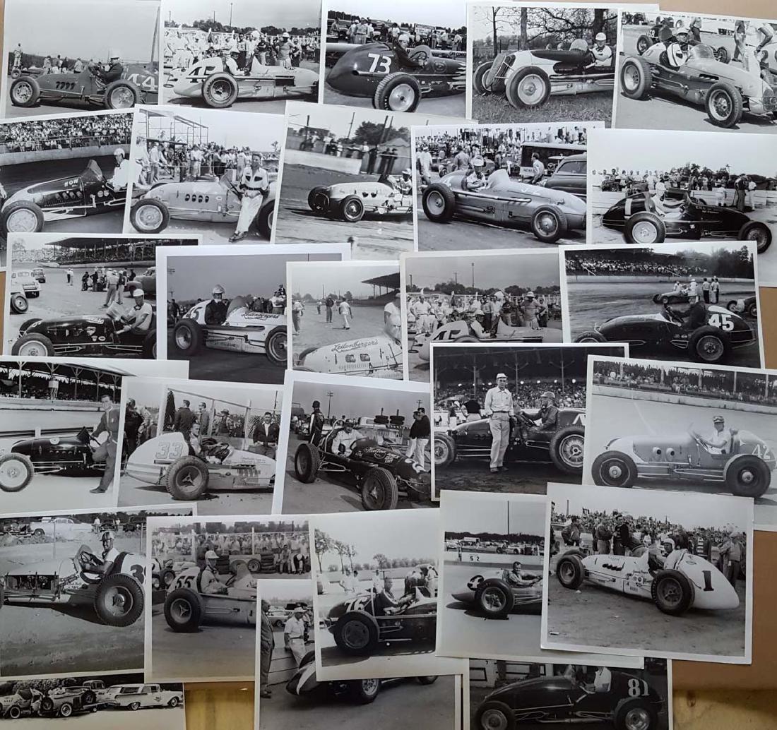 100 1950's Sprint & Big Car 8x10 photos