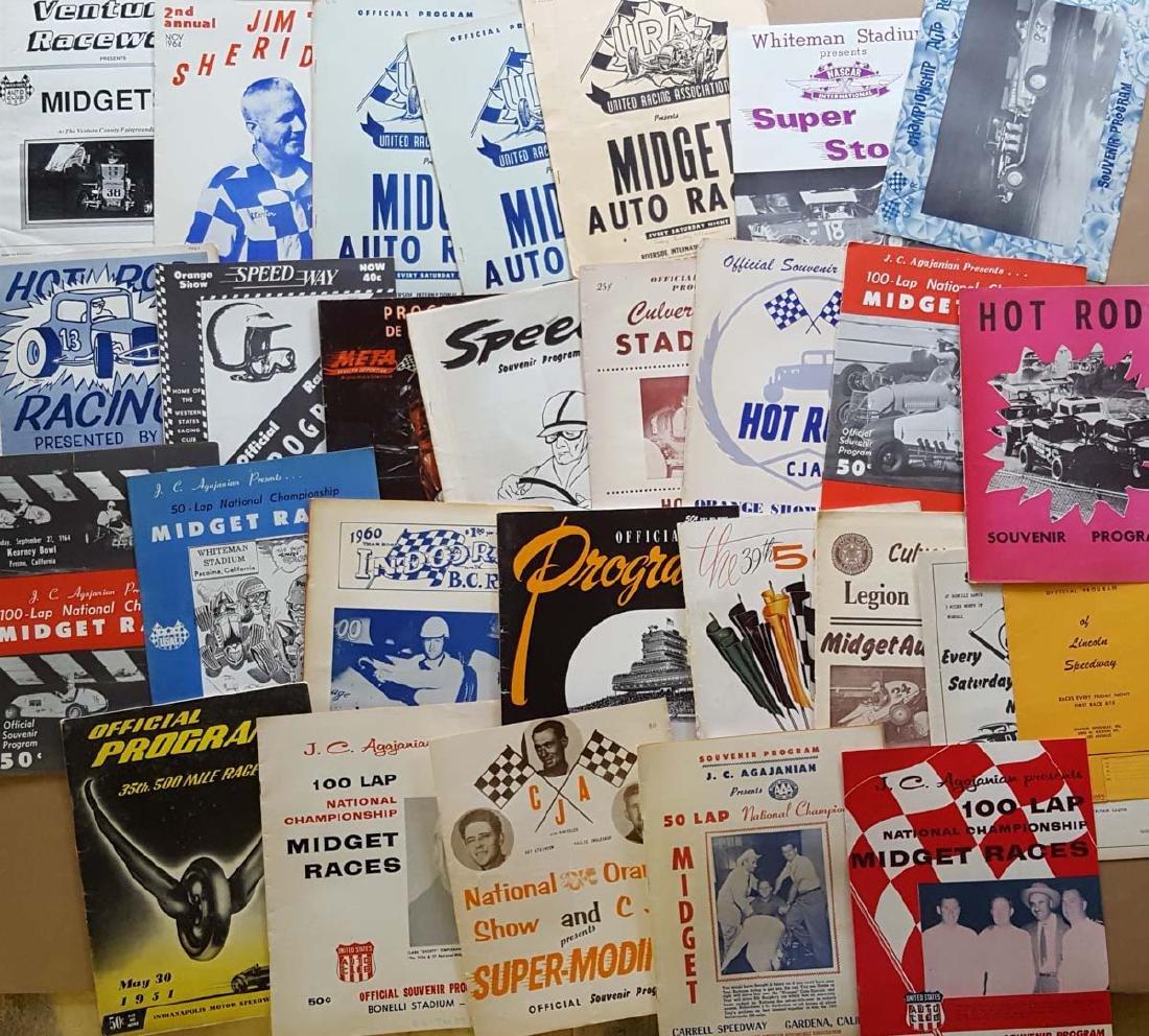 80 1950's-1960's race programs