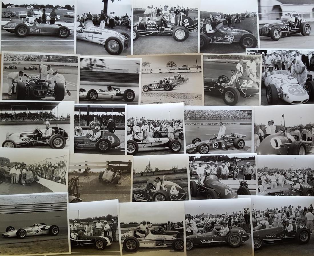100 1960's Sprint & Big car 8x10 photos
