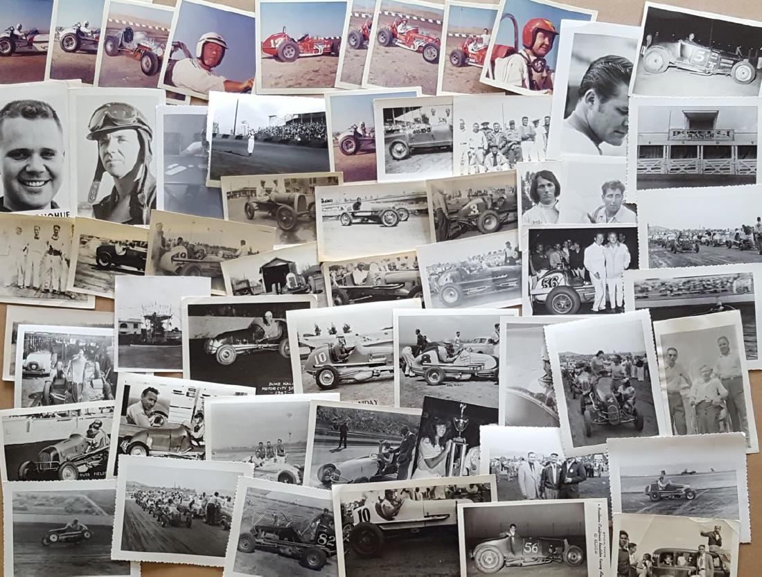 Lot of misc size race photos - 3