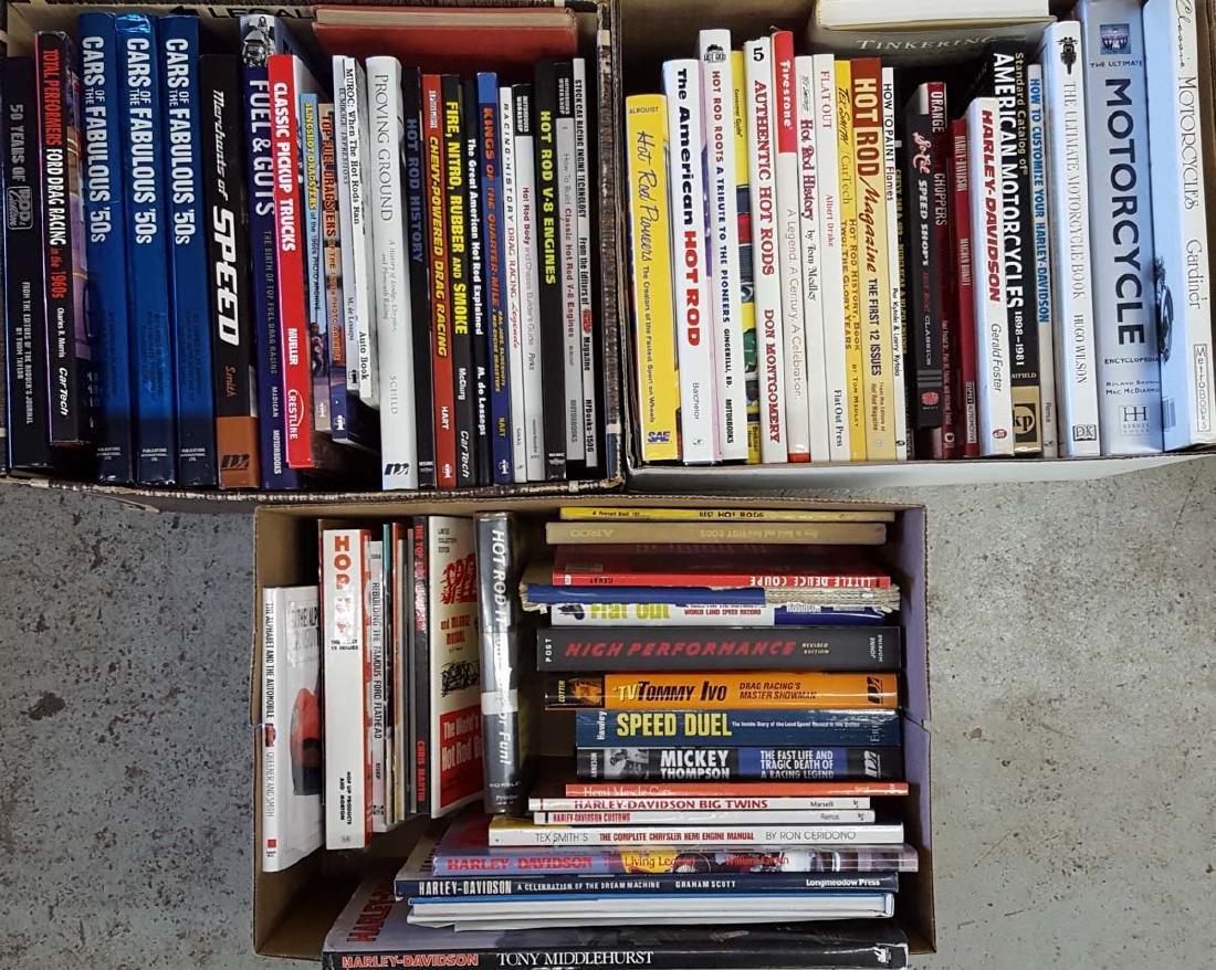 Hot Rod, Custom, Motorcycle books