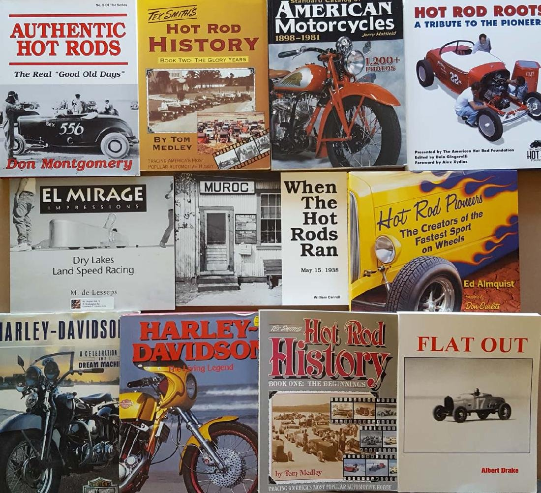 Hot Rod, Custom, Motorcycle books - 2