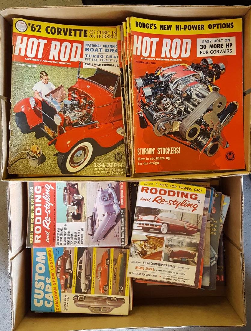 Hot Rod Programs and Magazines