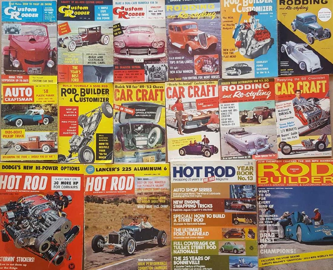 Hot Rod Programs and Magazines - 2