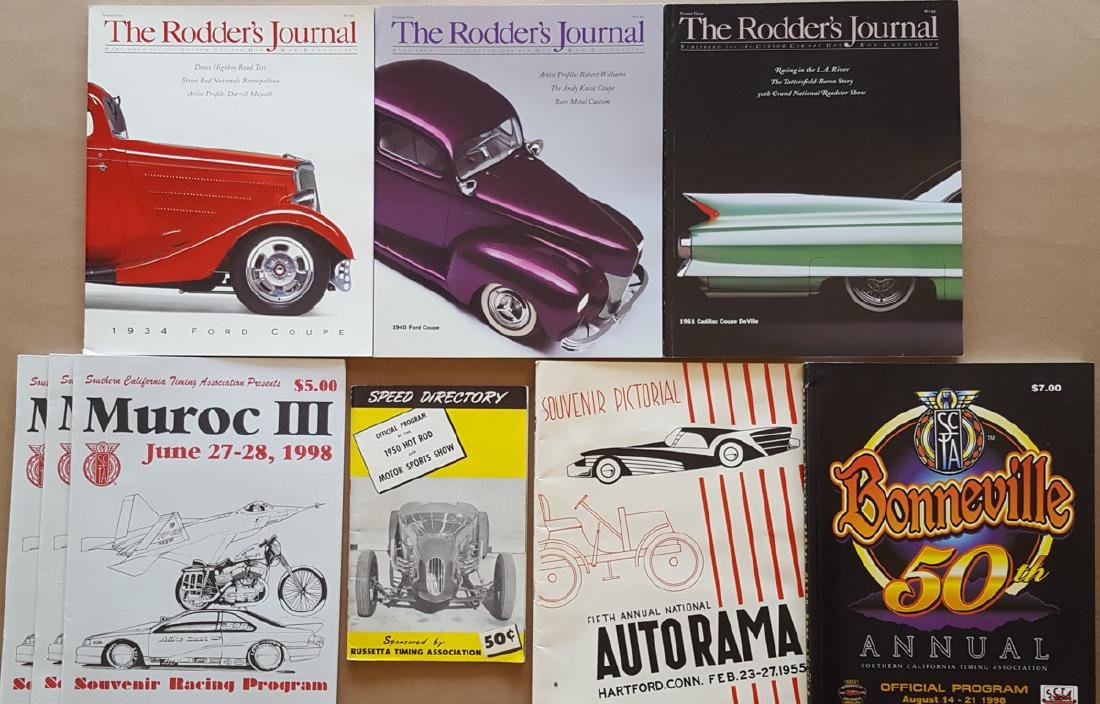 Hot Rod Programs and Magazines - 3