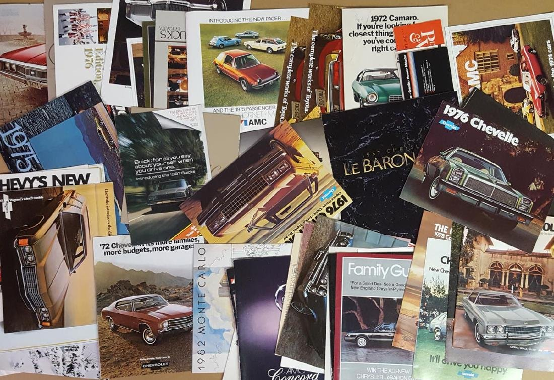 US sales literature, 1960's-80's - 2