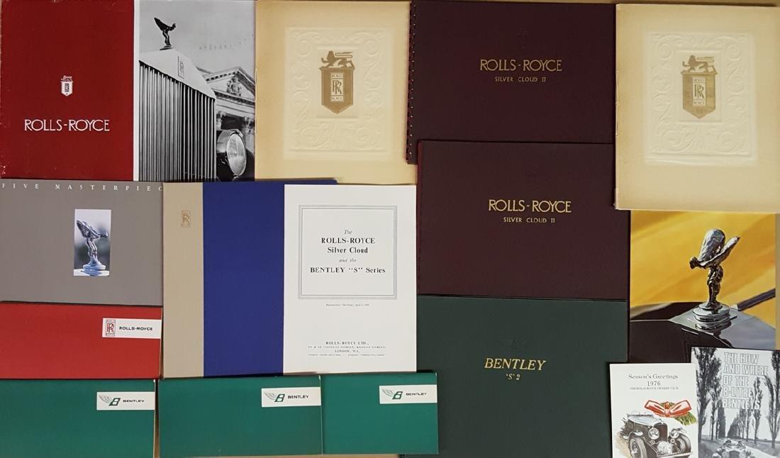 1940's-60's Rolls, Bently literature
