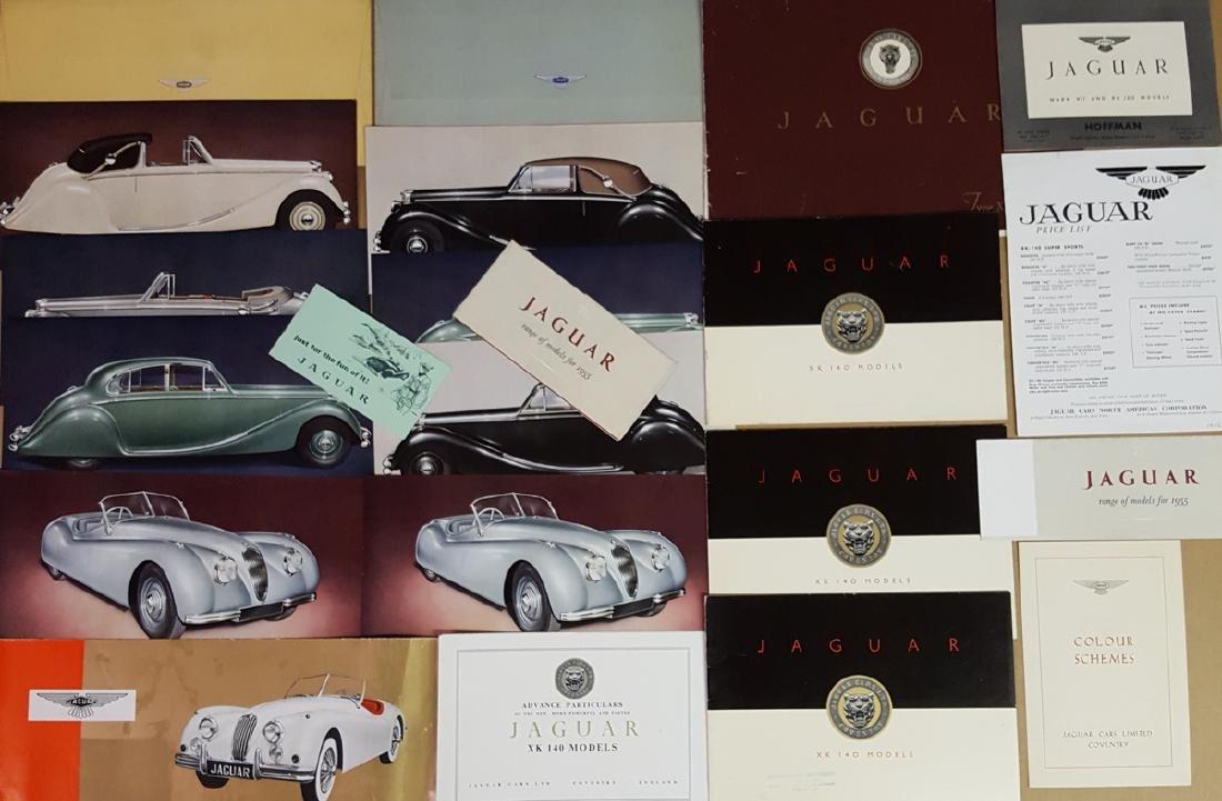 Jaguar sports, sedan literature