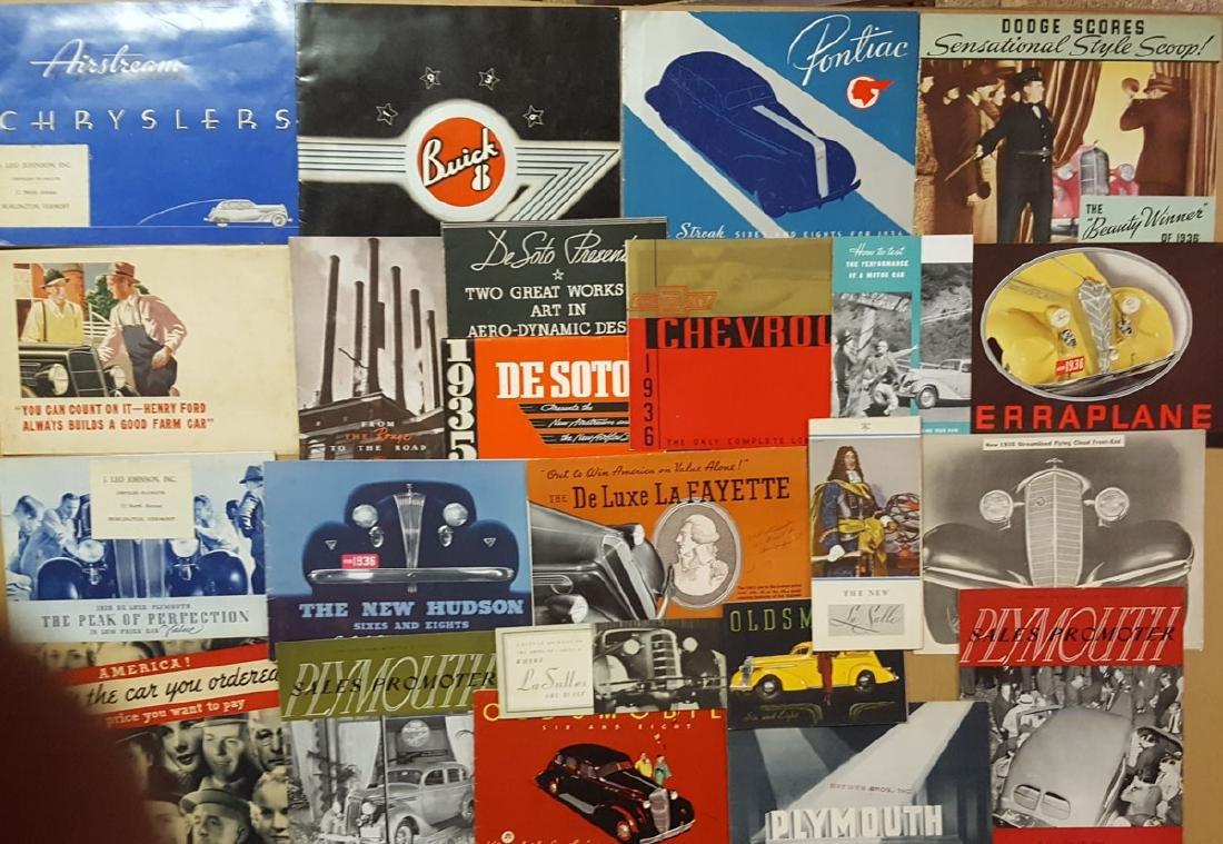 Teens-1936 brochures