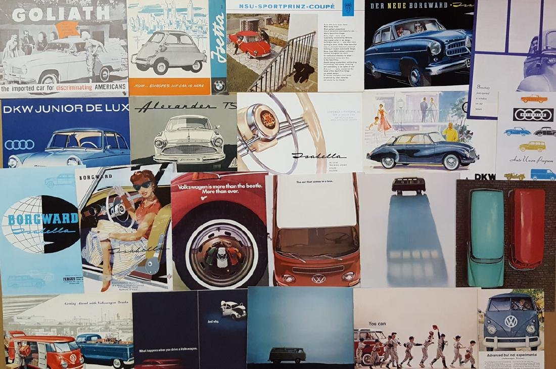 1950's-60's German brochures