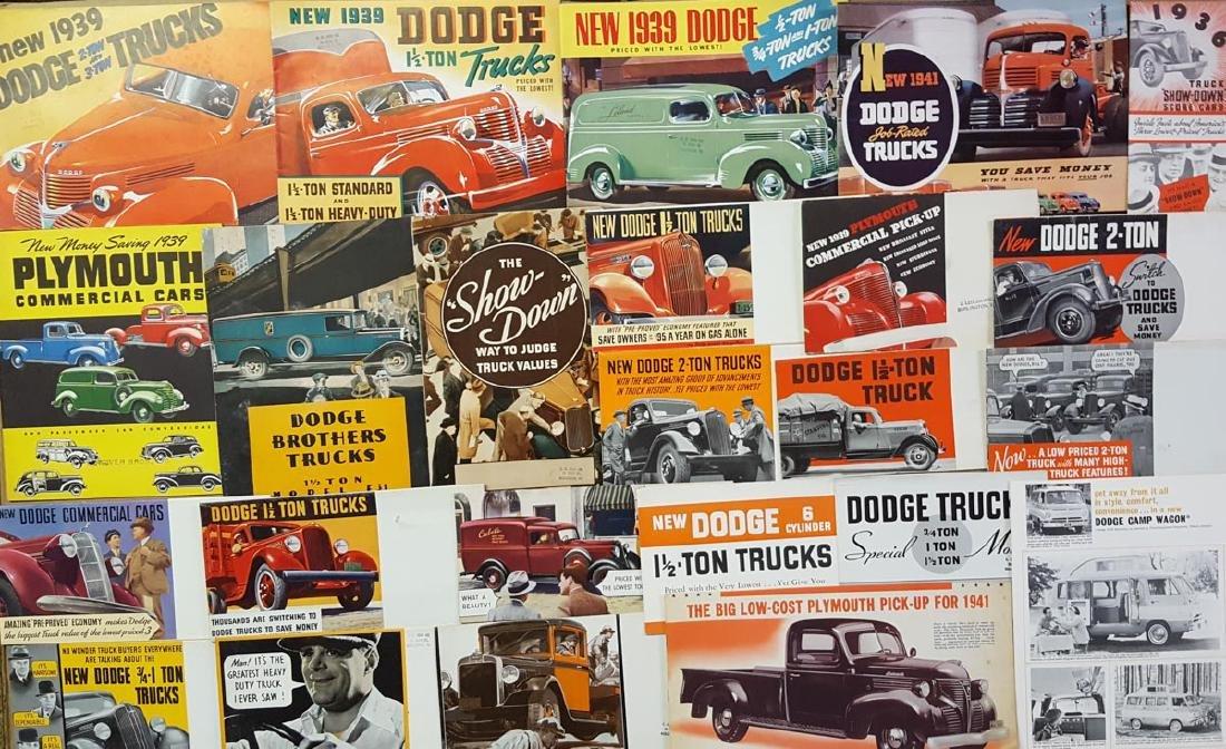 1931-70's US truck brochures