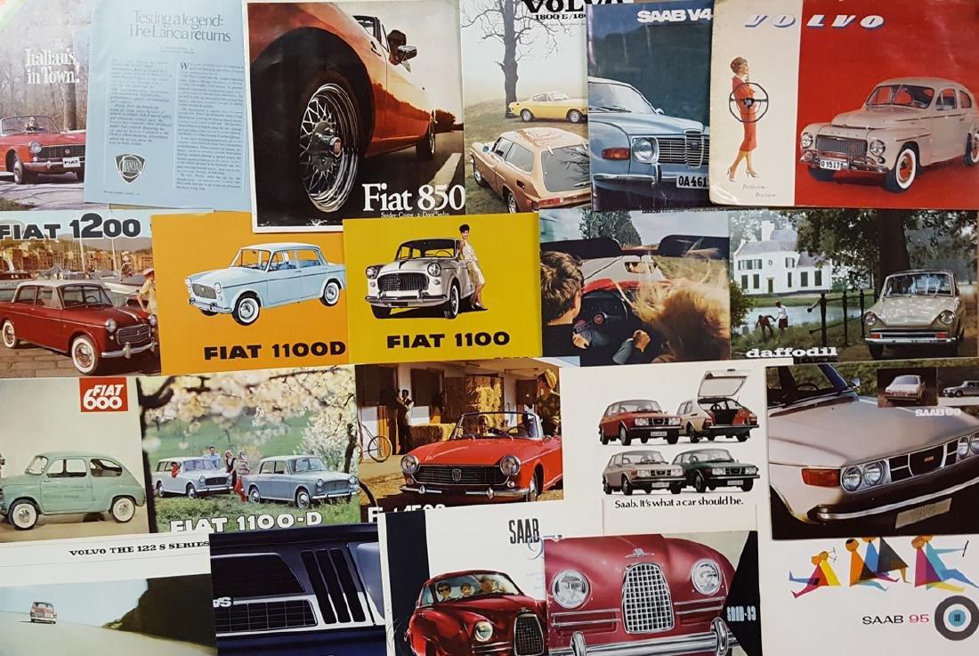 Misc import brochures - 1960's 70's