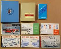 Misc data books - 1950's and later