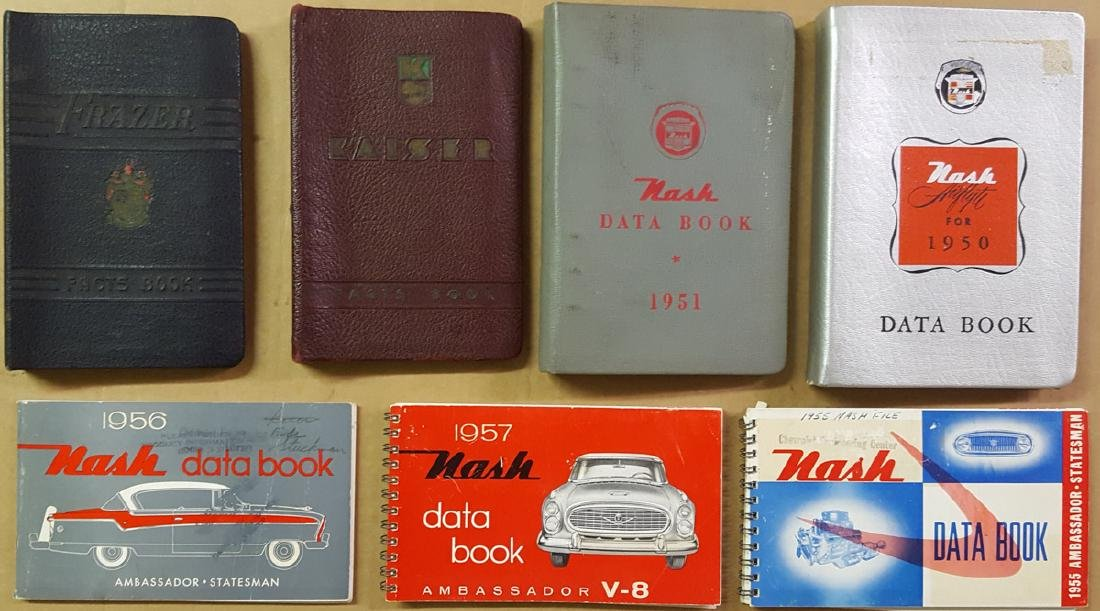 Nash, Kaiser Frazer data books