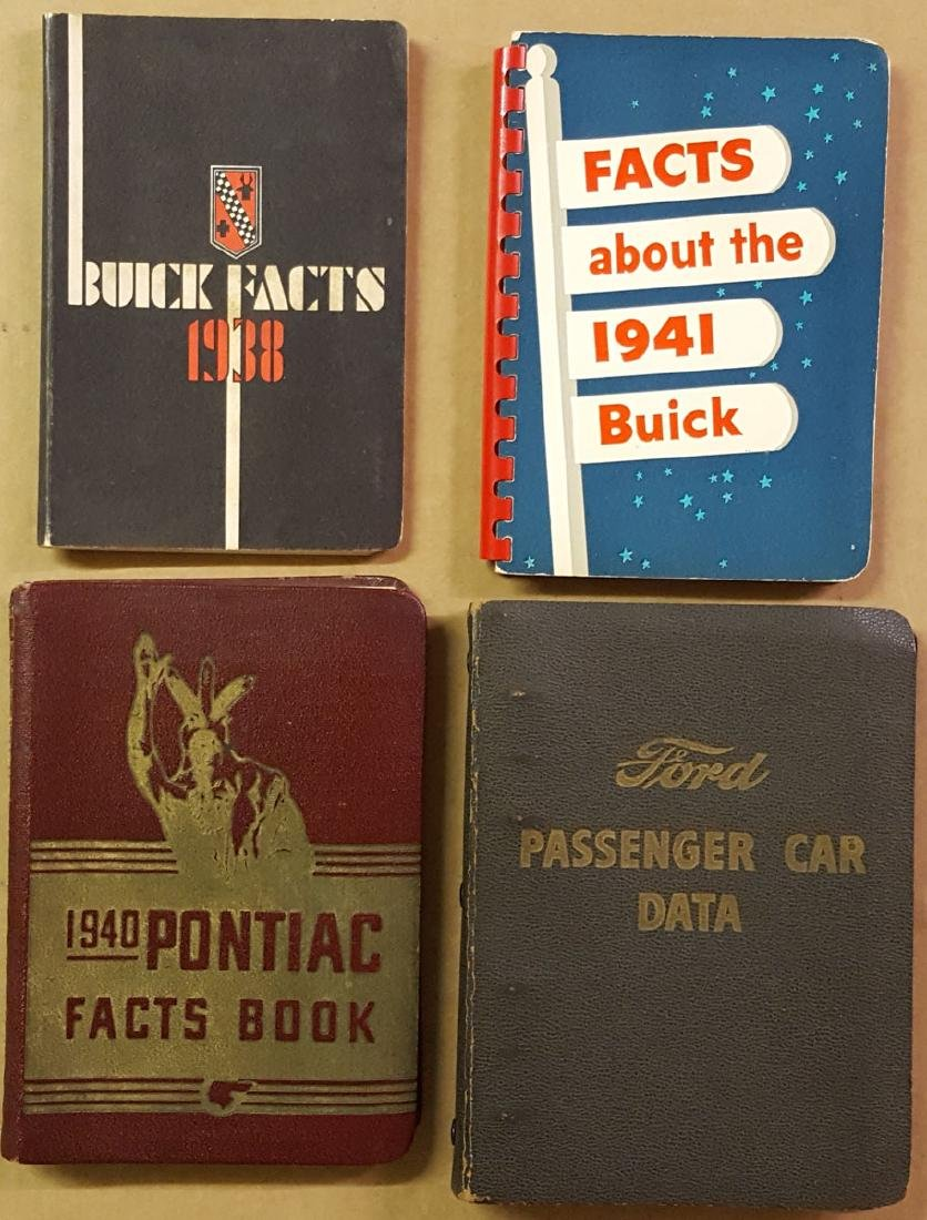 Buick, Ford Pontiac data books