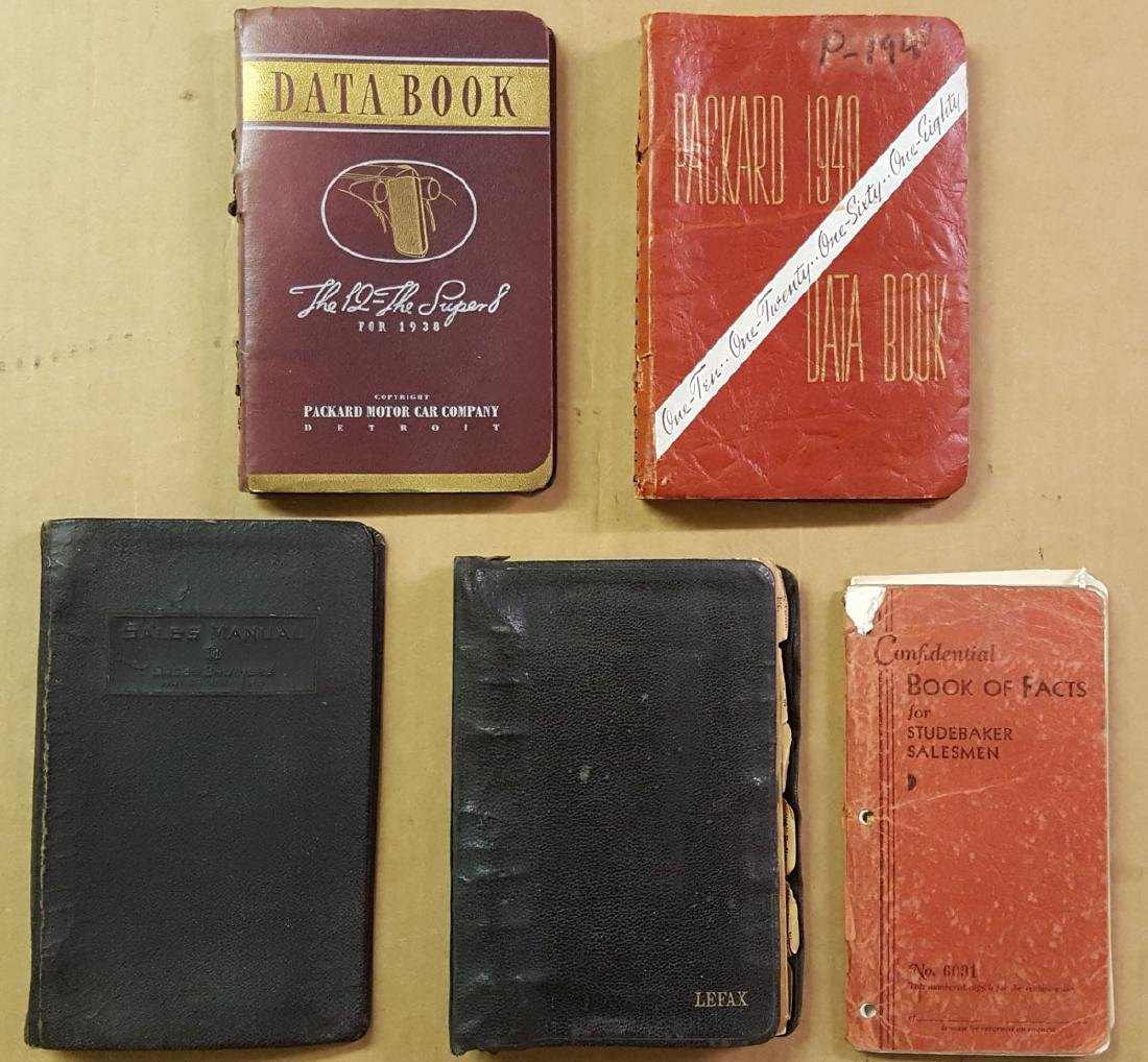 Packard and other data books