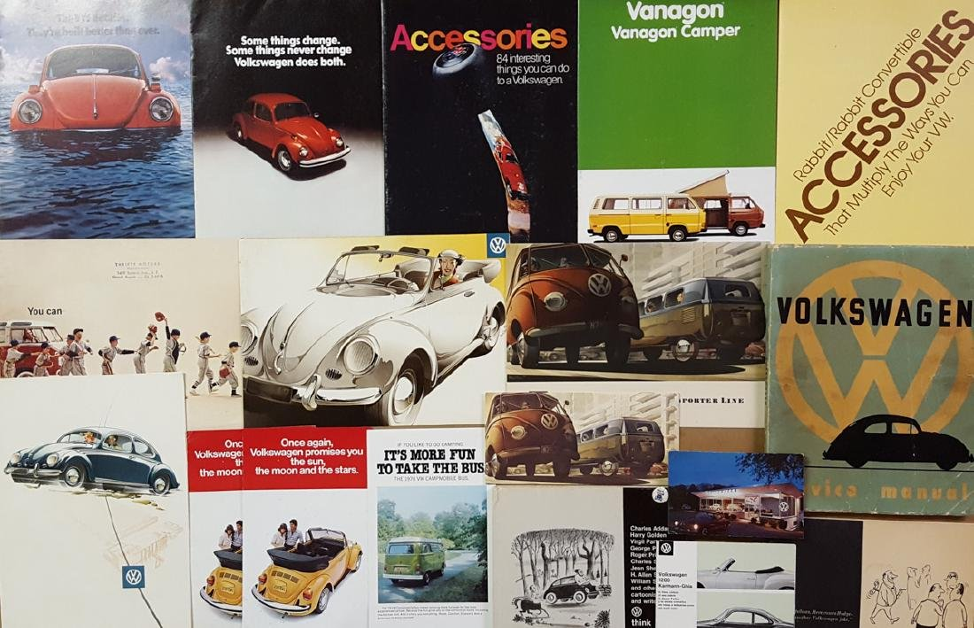 1950's-60's VW incl Trans 48 pg catalog