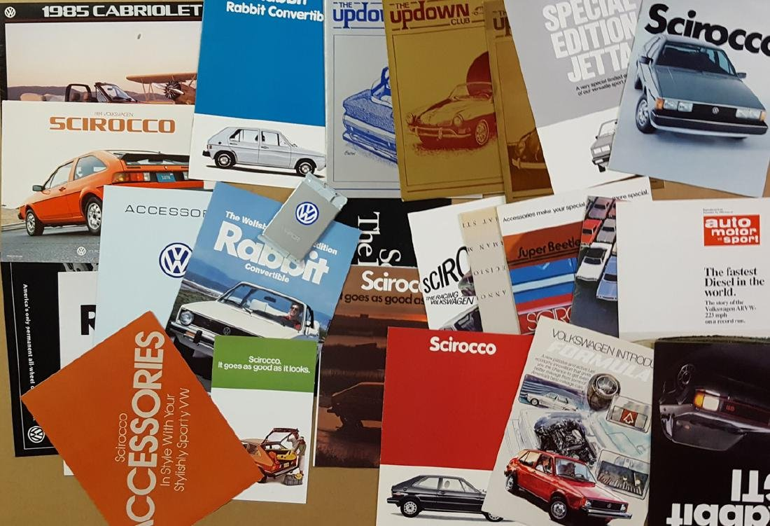 1950's-60's VW incl Trans 48 pg catalog - 2