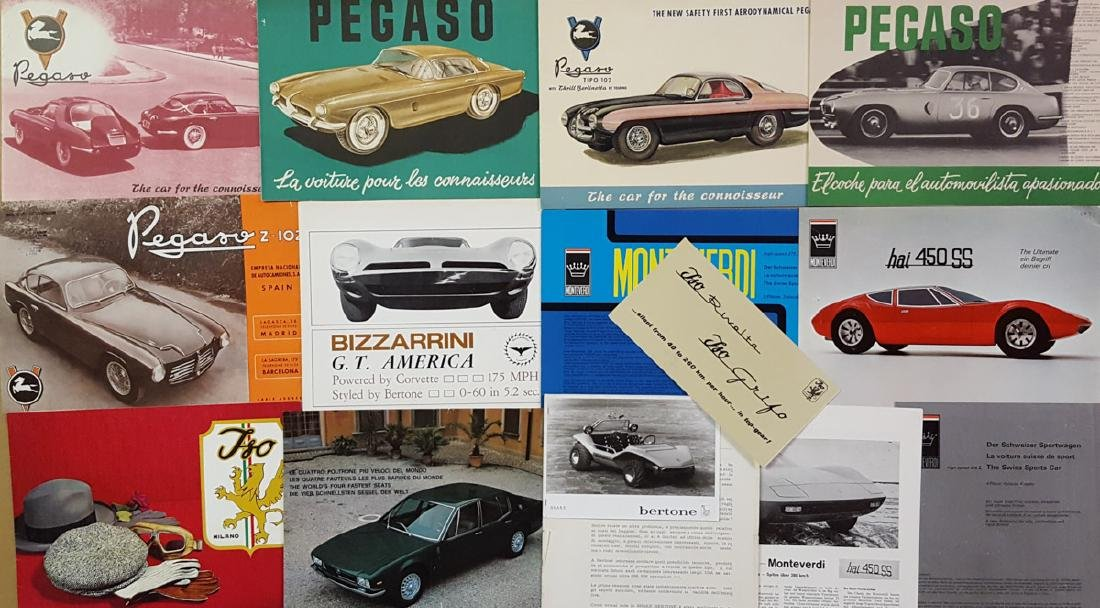 1950's-60's Euro high perf sports cars