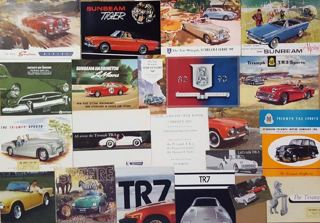 British broc - Sunbeam, Triumph, etc