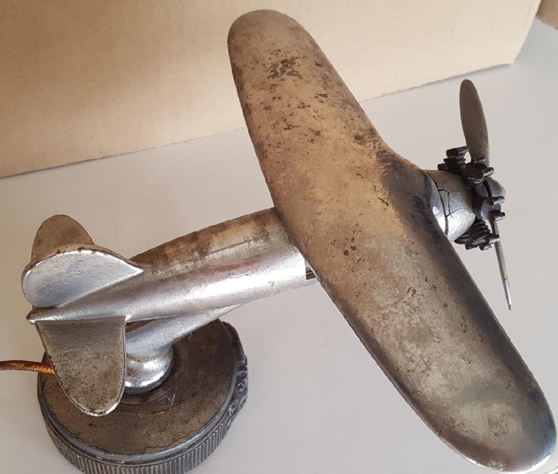 Illuminated airplane radiator mascot - 2