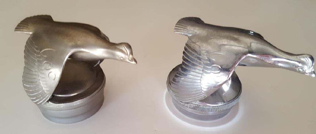 Two original Model a quail caps - 2