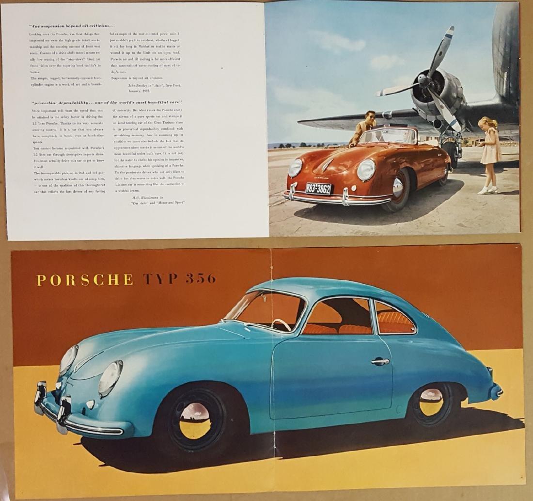 Porsche 356 Pre A literature