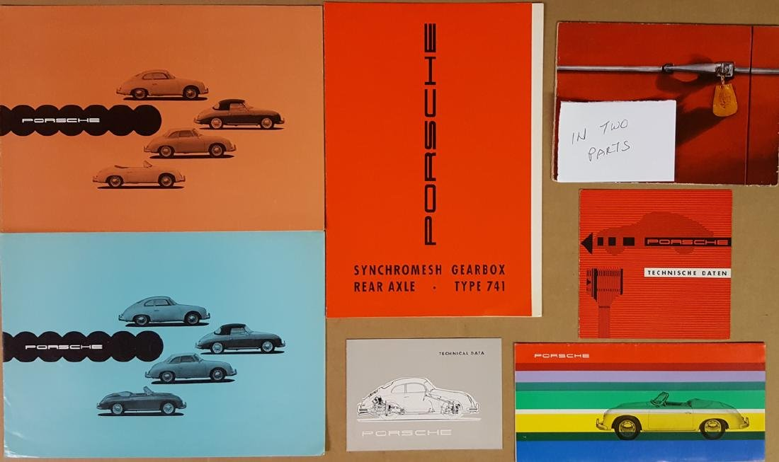 Six Porsche 356A items - 2