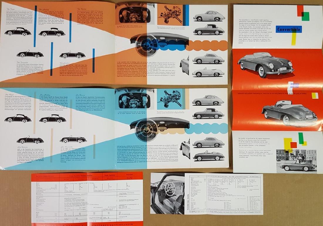 Six Porsche 356A items - 3