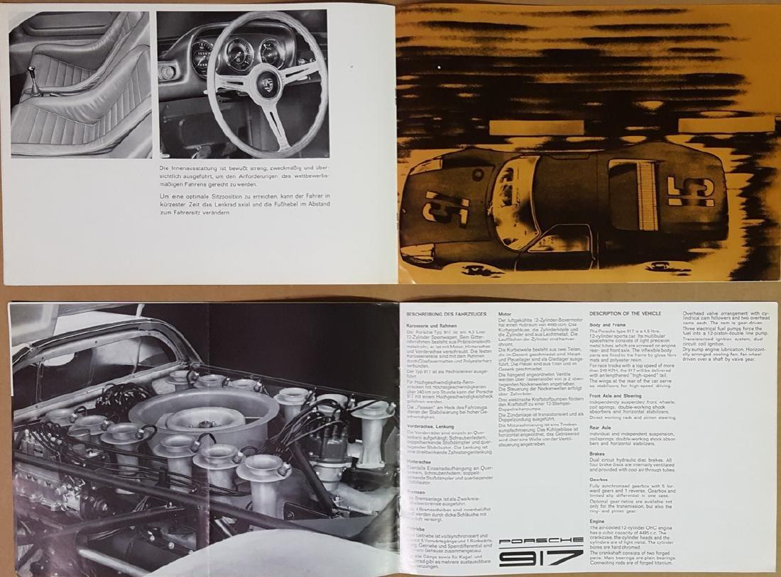 Porsche 904 and 917 items