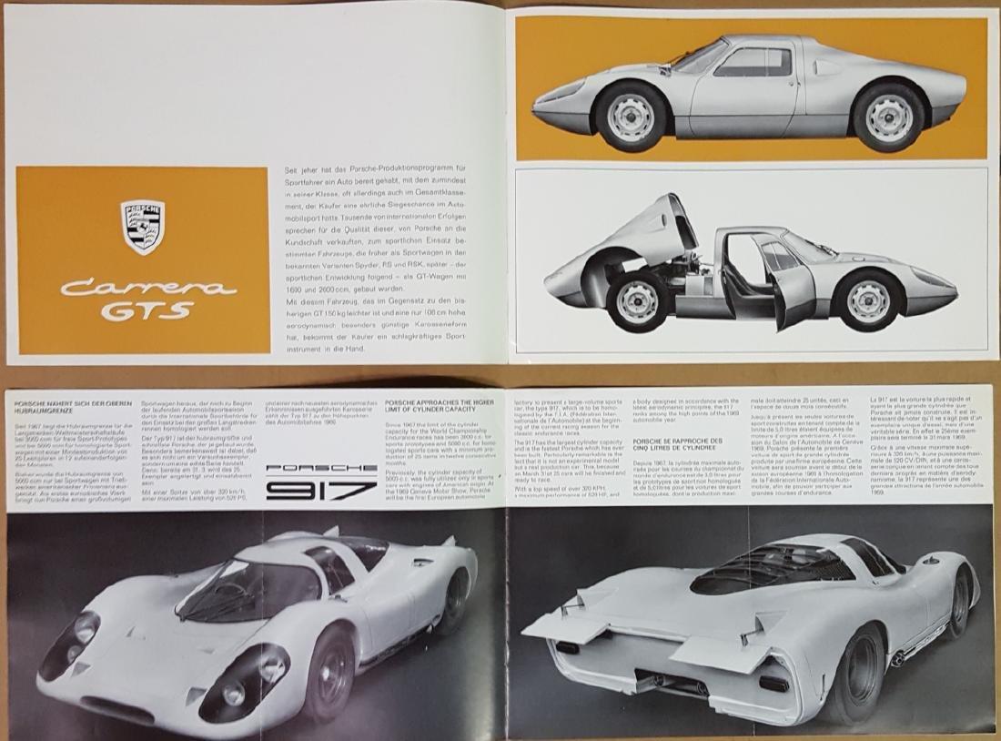 Porsche 904 and 917 items - 2