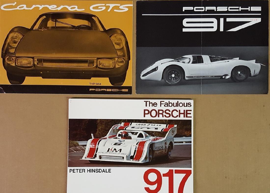 Porsche 904 and 917 items - 3